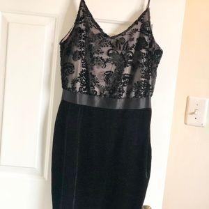 Elegant, flattering, little black dress